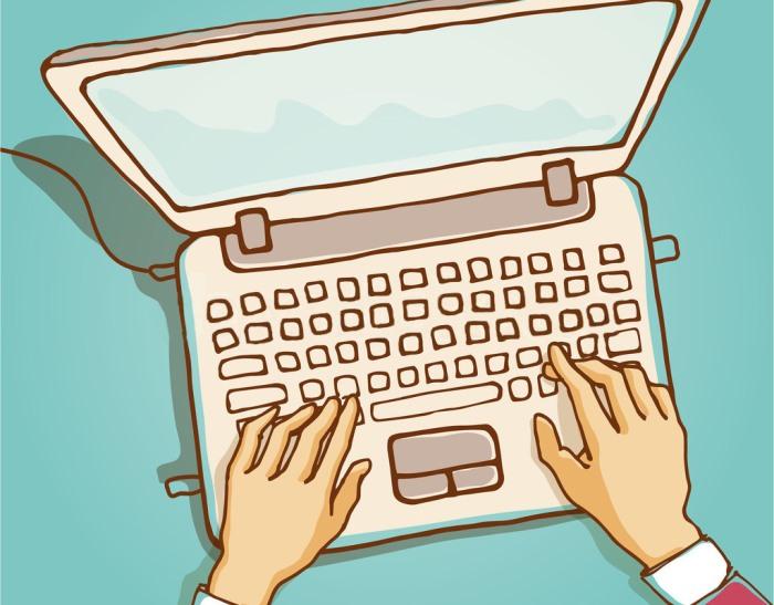 Как научиться быстро печатать на клавиатуре: основные правила