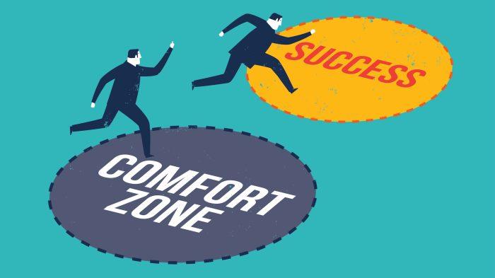 Как выйти из зоны комфорта всего за 4 шага